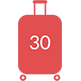 30 Tage Urlaub